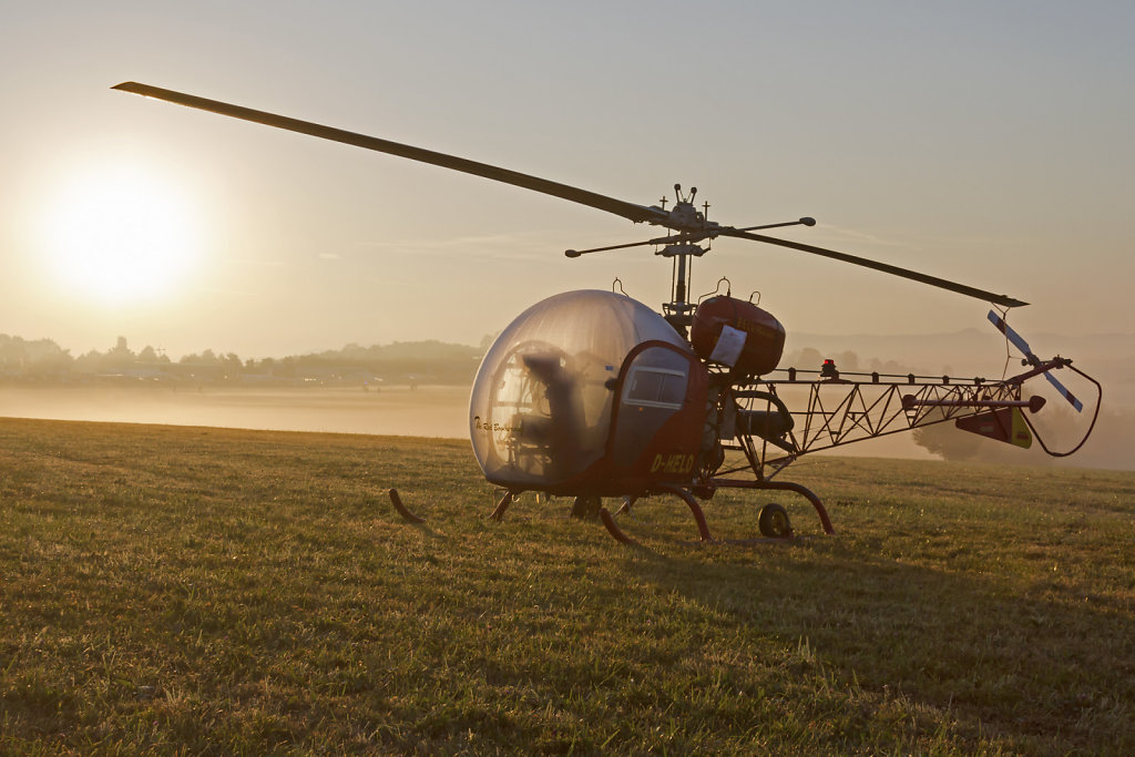Bell 47-G2 D-HELO